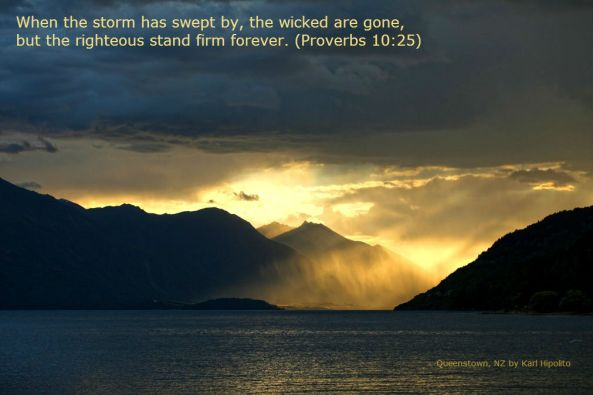 Queenstown by Karl Hipolito with Bible Verse