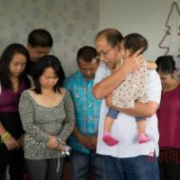 My First Child Dedication Service in South Canterbury