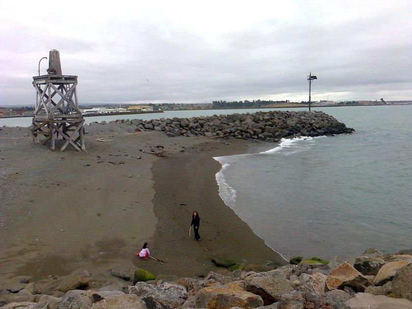 Timaru Port Shingle Beach