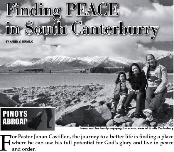 South Canterbury Article