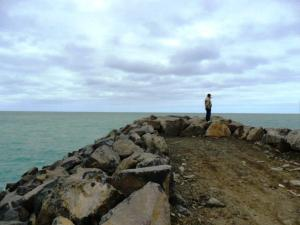 Timaru Port Breakwater