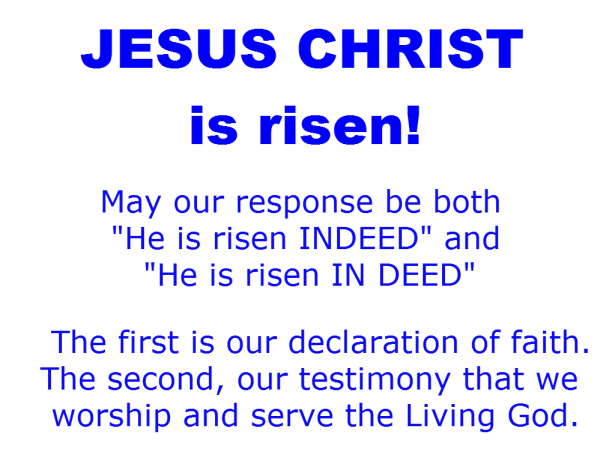 Jesus Christ is alive