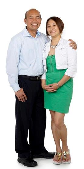 Randy and wife, Nina